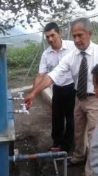 Inauguración Planta de Tratamiento de Agua en el Barrio San José de Taparuca