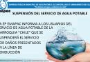 SUSPENSIÓN DEL SERVICIO DE AGUA POTABLE