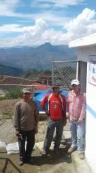 Visita a la planta de agua potable del Barrio Atillo